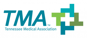Tennesee Medical Association (TMA) blue and green logo
