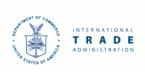 Logo for the US Department of Commerce International Trade Administration